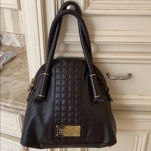 Badgley Mischka top handled purse
